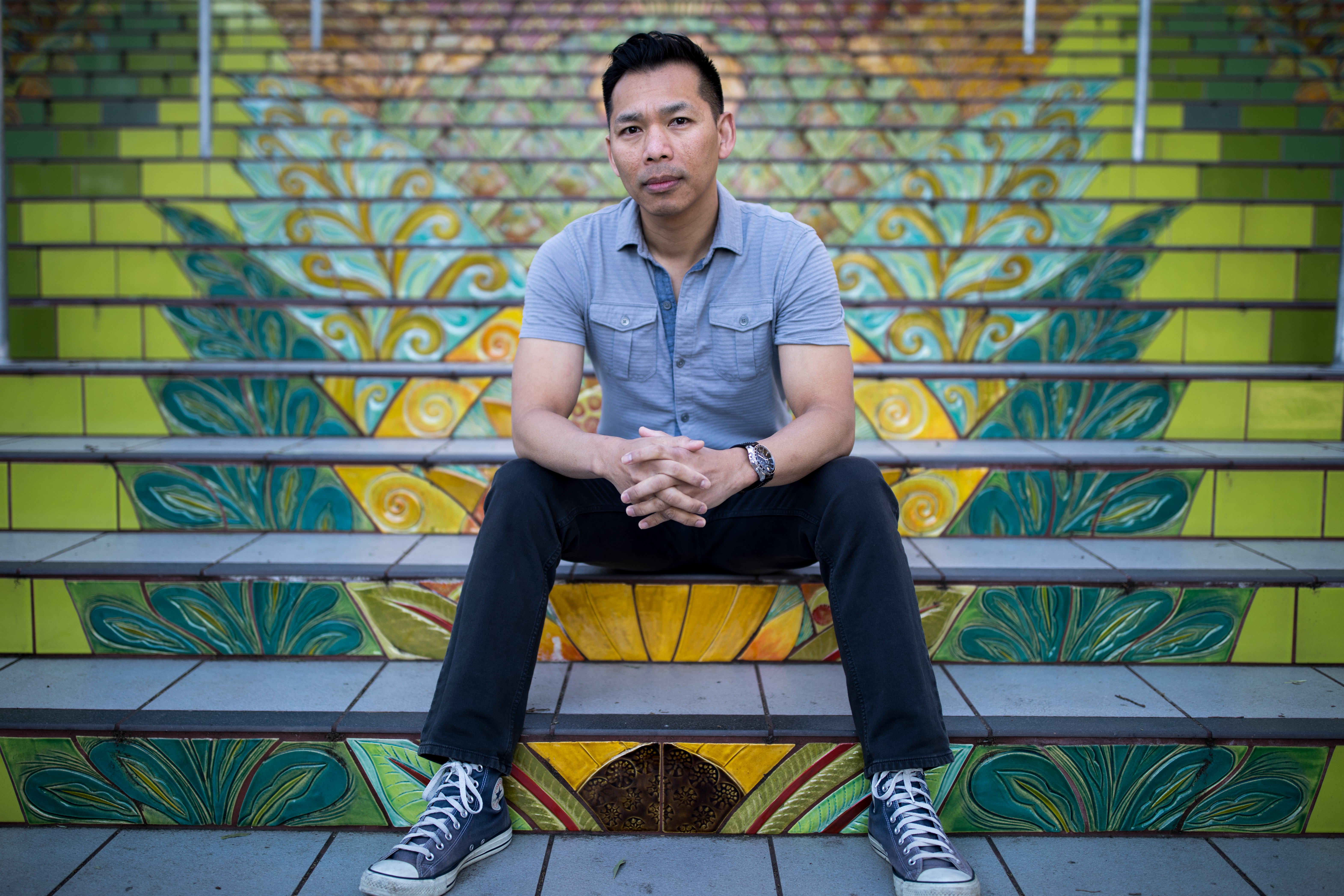 Actor Jimmy Dang Casual Looks